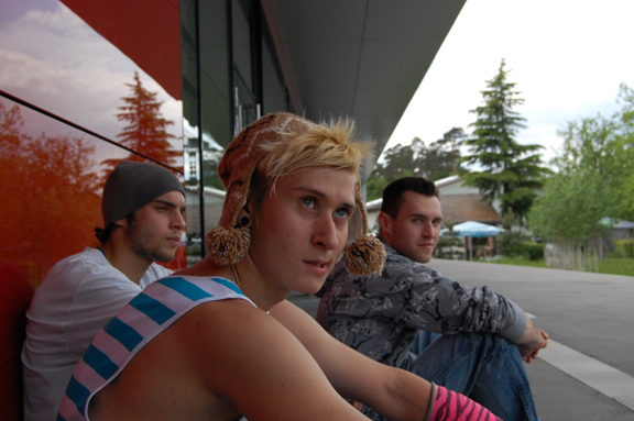 Eddy, Nick, Andi 05/2010